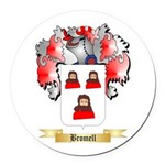 Bromell Round Car Magnet