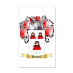 Bromell 35x21 Wall Decal