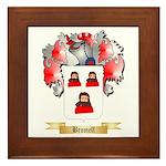 Bromell Framed Tile