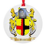 Broke Round Ornament