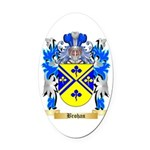 Brohan Oval Car Magnet