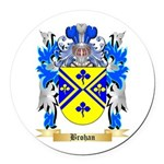 Brohan Round Car Magnet