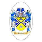 Brohan Sticker (Oval 10 pk)
