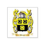 Brogi Square Sticker 3