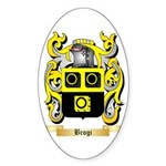 Brogi Sticker (Oval 10 pk)