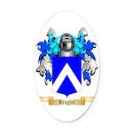 Broghel Oval Car Magnet