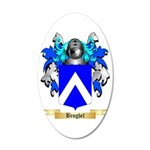 Broghel 35x21 Oval Wall Decal