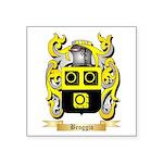 Broggio Square Sticker 3