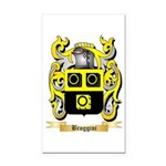 Broggini Rectangle Car Magnet
