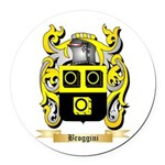 Broggini Round Car Magnet