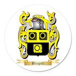 Brogetti Round Car Magnet