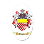Brogdon Oval Car Magnet