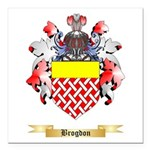 Brogdon Square Car Magnet 3
