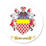 Brogdon Round Car Magnet