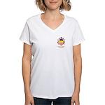 Brogden Women's V-Neck T-Shirt
