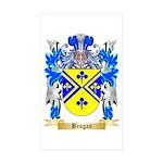 Brogan Sticker (Rectangle 50 pk)