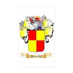 Bromiley Sticker (Rectangle 50 pk)