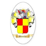Bromiley Sticker (Oval 50 pk)