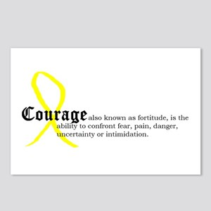 Definition of Courage Postcards (Package of 8)