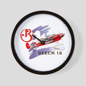 BEECH 18 Wall Clock