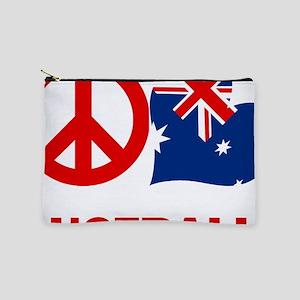 Peace Love Australia Makeup Pouch