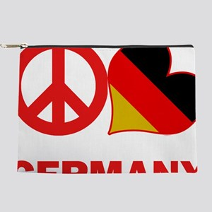 Peace Love Germany Makeup Pouch