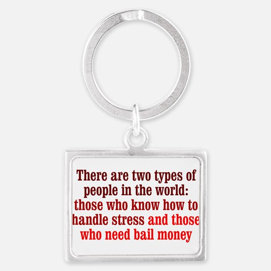 Dealing with Stress Keychains