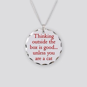 Cat Thinking Necklace