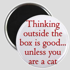 Cat Thinking Magnet