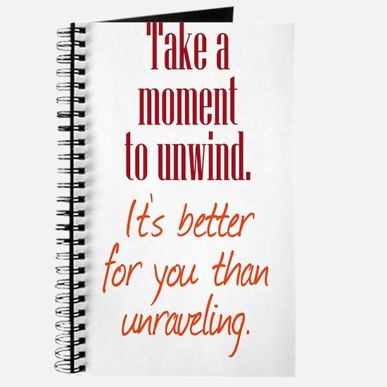 Unwind or Unravel Journal