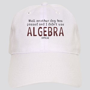 Didn't use algebra today Cap