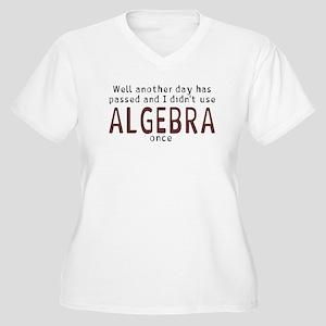 Didn't use algebra today Women's Plus Size V-Neck