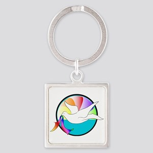 Dove of Love Keychains