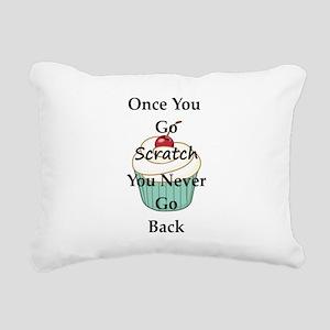 Going Scratch Rectangular Canvas Pillow