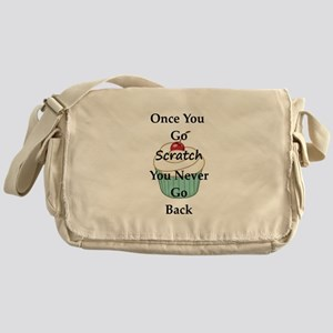 Going Scratch Messenger Bag