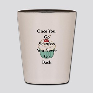 Going Scratch Shot Glass