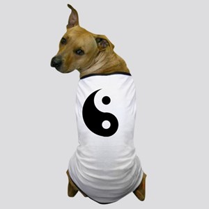 Yin & Yang (Traditional) Dog T-Shirt