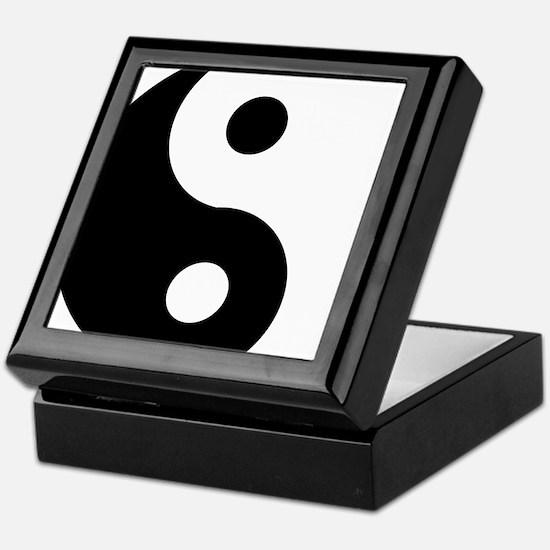 Yin & Yang (Traditional) Keepsake Box