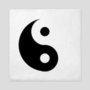 Yin & Yang (Traditional) Queen Duvet
