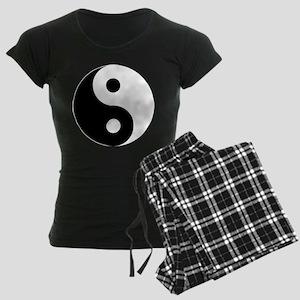 Yin & Yang (Traditional) Women's Dark Pajamas