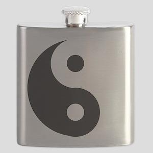 Yin & Yang (Traditional) Flask