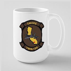 VF 134 Smoke Large Mug