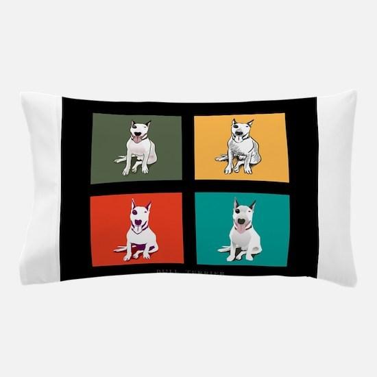 bull terrier Pillow Case
