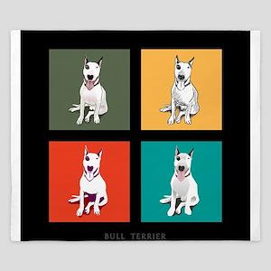 bull terrier King Duvet