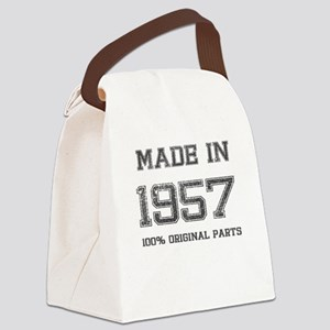 MADE IN 1957 100% ORIGINAL PARTS Canvas Lunch Bag