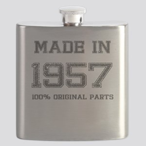 MADE IN 1957 100% ORIGINAL PARTS Flask