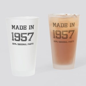 MADE IN 1957 100% ORIGINAL PARTS Drinking Glass