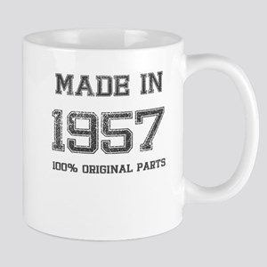 MADE IN 1957 100% ORIGINAL PARTS Mug