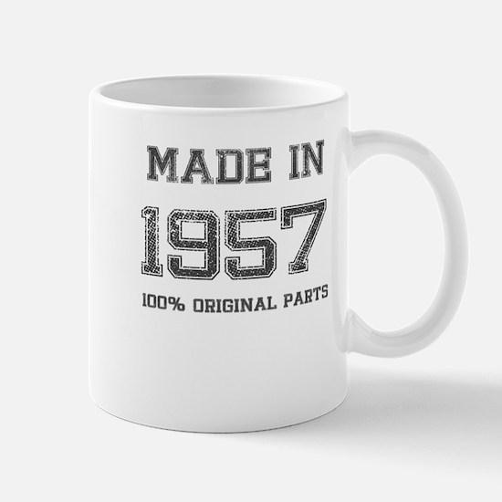 MADE IN 1957 100% ORIGINAL PARTS Mug