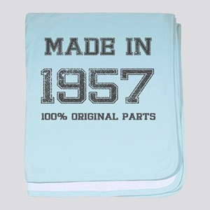 MADE IN 1957 100% ORIGINAL PARTS baby blanket